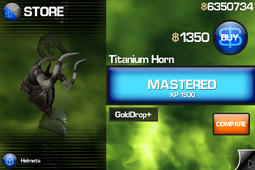 Titanium Horn IB1