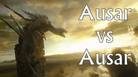 Infinity Blade 3 Ausar vs Ausar