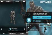 Worn Plate Armor