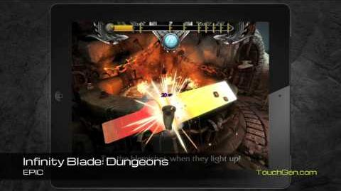Infinity Blade Dungeons Gameplay Footage