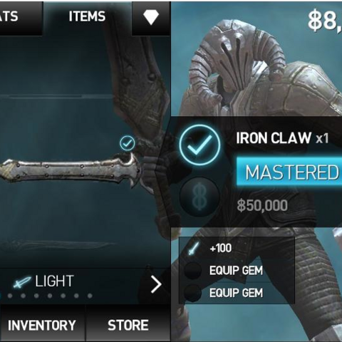 Screenshot of Iron Claw (IB2)
