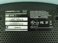 Linksys WRT400N v1.0 FCCd