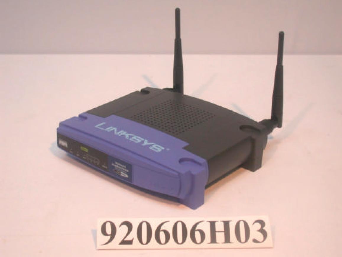 Linksys WAG54G Firmware
