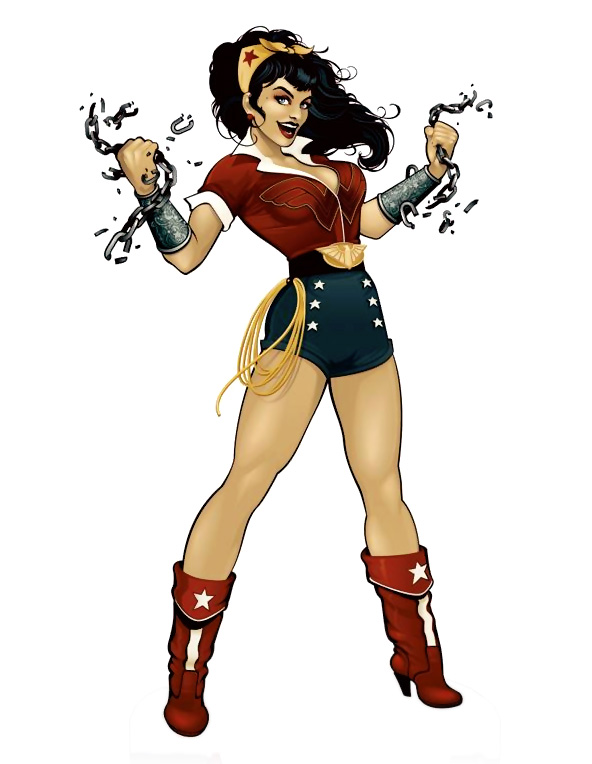 photo story assignment ideas - Wonder Woman Bombshell and the DC Bombshell Collection