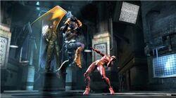 Deathstroke vs. The Flash