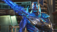 Blue Beetle appears in Injustice 2
