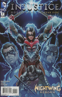 Injustice Gods Among Us Year Five Issue 7 Cover