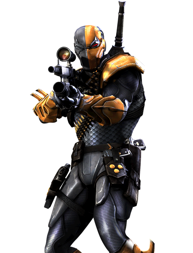 How To Draw Deathstroke From Injustice Deathstroke Injustice Render