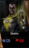 SinestroCardiOS