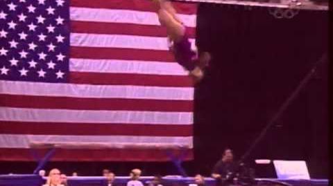 Alicia Sacramone - Floor Exercise - 2005 Visa Championships - Women - Day 2