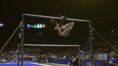 Mary Lou Retton - Uneven Bars - 1984 McDonald's American Cup