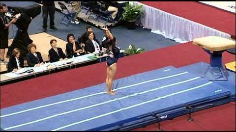 Vanessa Zamarripa (UCLA) - 2010 US Nationals - Vault (Day 1)