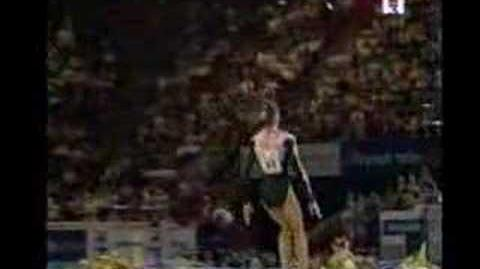 Ludivine Furnon 2000 Europeans Floor Event Final
