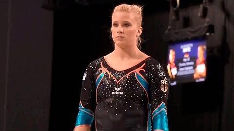 Elisabeth Seitz (GER) UB AA World Cup Glasgow 2016