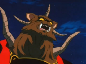 Panther King Face