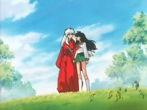 Inuyasha and Kagome reconcile