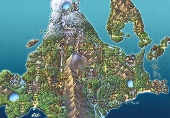 Sinnoh Region Map