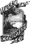 Apple first logo