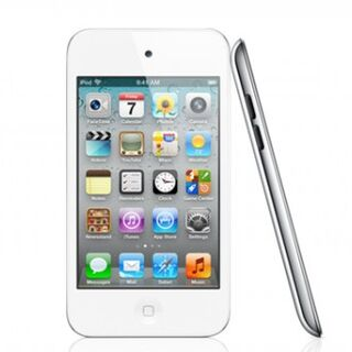 The fourth-generation iPod Touch.
