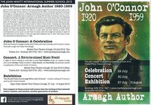 John o'connor poster