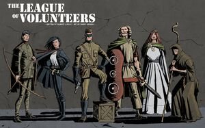 League of volunteers colour