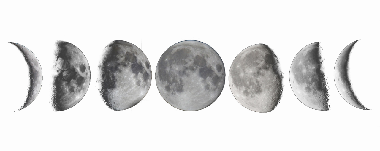 Image - Moon-phases-tumblr-transparent.png | Ithilae Wiki | Fandom ...