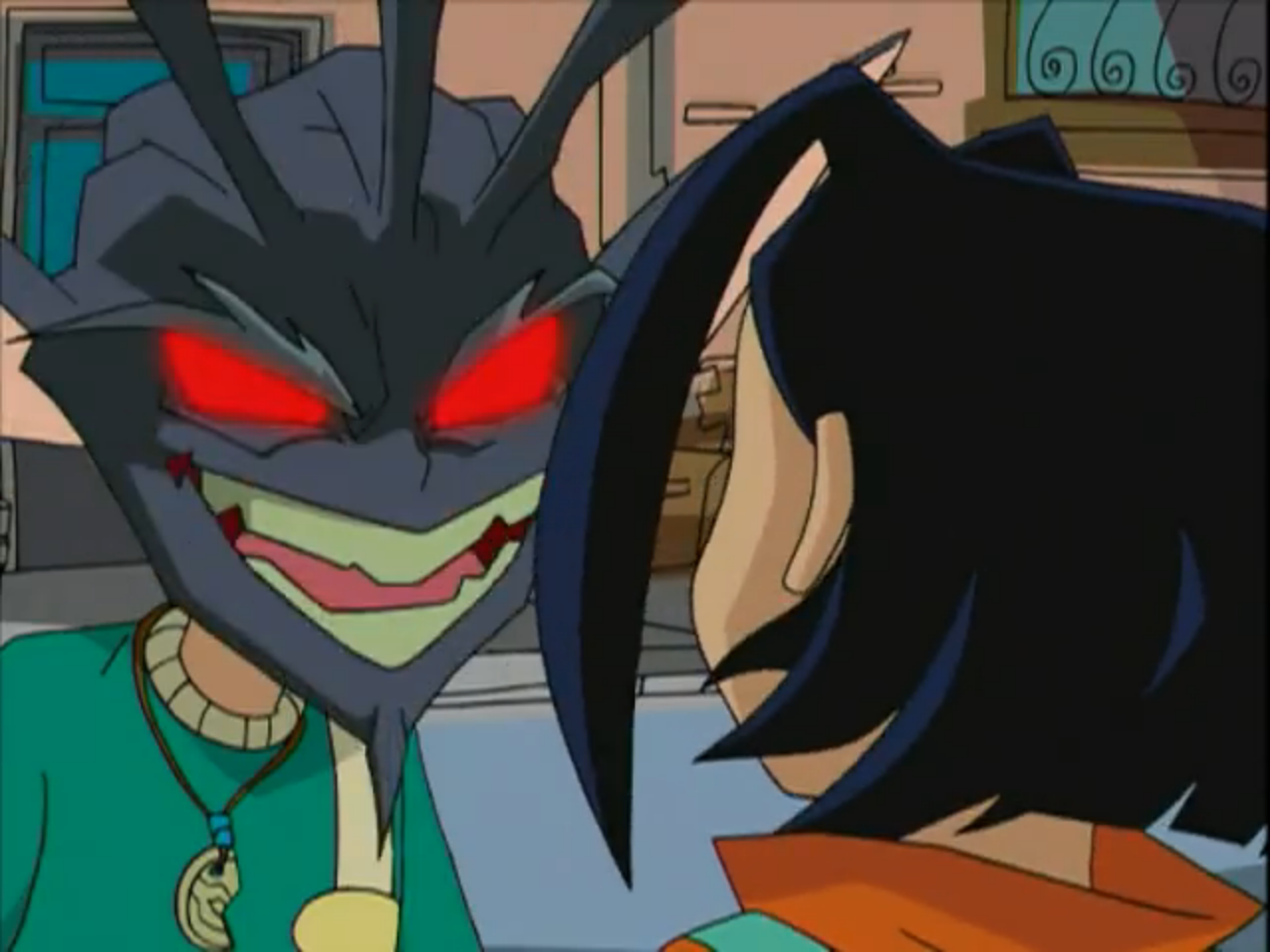 This was also one of the best episodes in the series as well.  The Rooster and Rabbit Talismans were just icing on the cake.  Image from the Jackie Chan Adventures wiki
