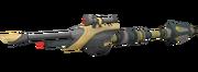 Blaster gunstaff render