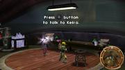 Keira preparing to convert dark eco