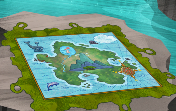 Jake And The Neverland Pirates Cubbys Map Map to Neptune&...
