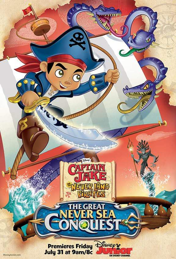 Jake.Neverland. The.Great.Never. Sea. 2015.DVD. R1. LATINO