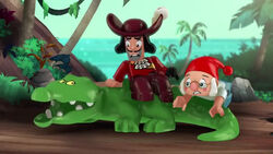 Hook Smee &Tick Tock Croc-The Treasure of Belch Mountain
