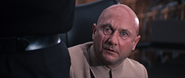 Blofeld introduces himself to 007 (You Only Live Twice)