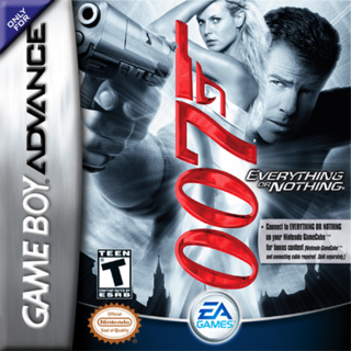 The Gameboy Advance cover for the game.