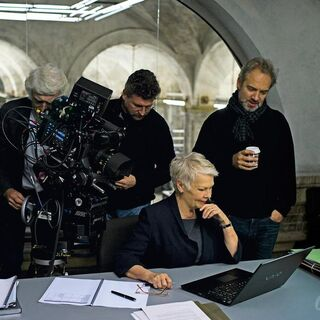 Filming with Judi Dench