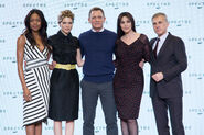 Spectre press conference - Craig, Bellucci, Seydoux, Waltz, Harris