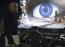 Quantum of Solace - Marc Forster on set