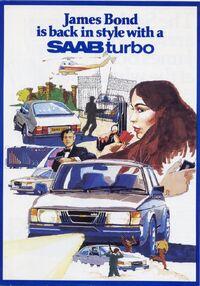 007 Saab Poster