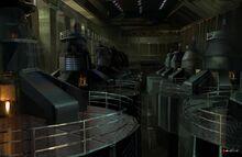 Generator Room (Rogue Agent) by Christian Lorenz Scheurer