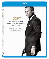 Daniel Craig Bond blu-ray collection