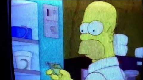 Homer gets James Bond killed-0