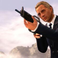 Max Zorin as he appears in Goldeneye 007 reloaded.