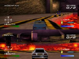 007 Racing Multiplayer (Playstation) 1
