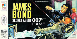 James Bond Secret Agent 007 (1964 board game)