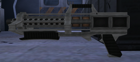 Phoenix samurai laser rifle (Nightfire, GC)