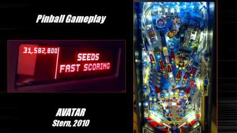 Stern Avatar Pinball Machine Gameplay