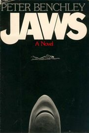 Jaws novel cover