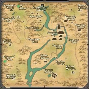 Map Sunstream