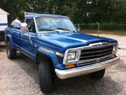 Jeep J-10 pick-up blue f md
