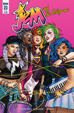 Jem and The Holograms, Issue 23 - 01